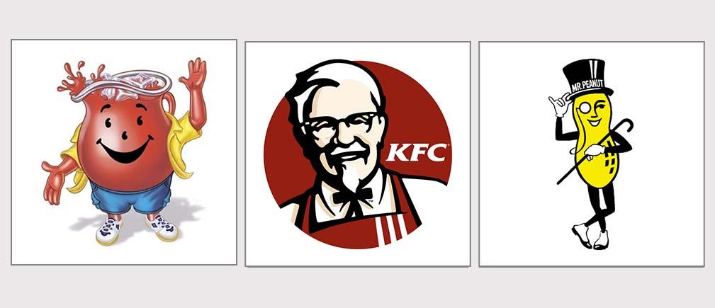 لوگو کاراکترها در لوگو تایپ ها