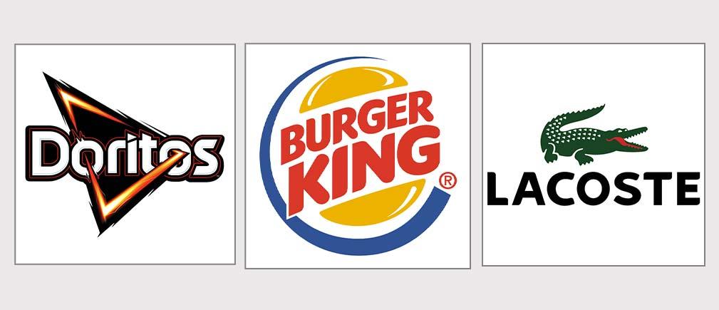 لوگو های ترکیبی تصویر و نوشته در لوگو تایپ ها