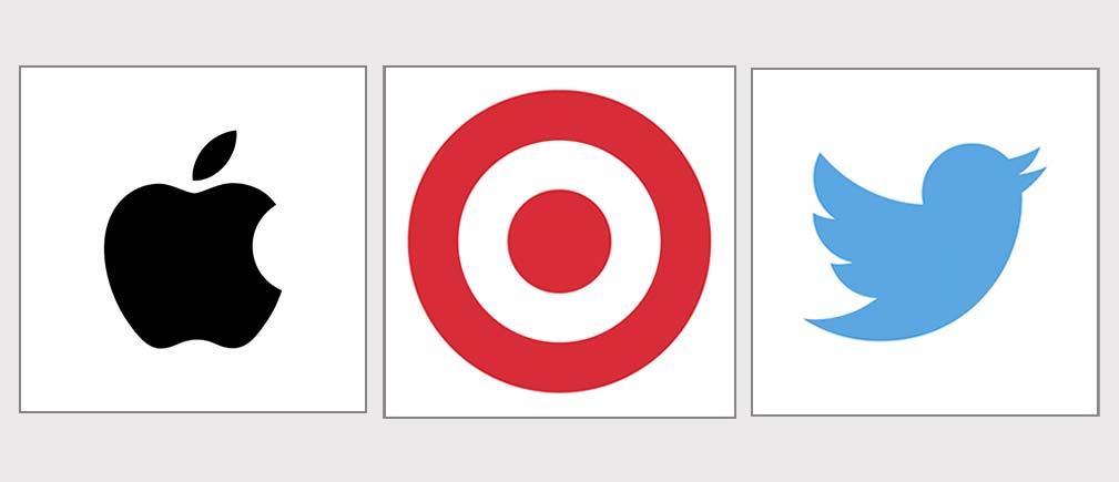 لوگوهای تصویری در لوگو تایپ ها