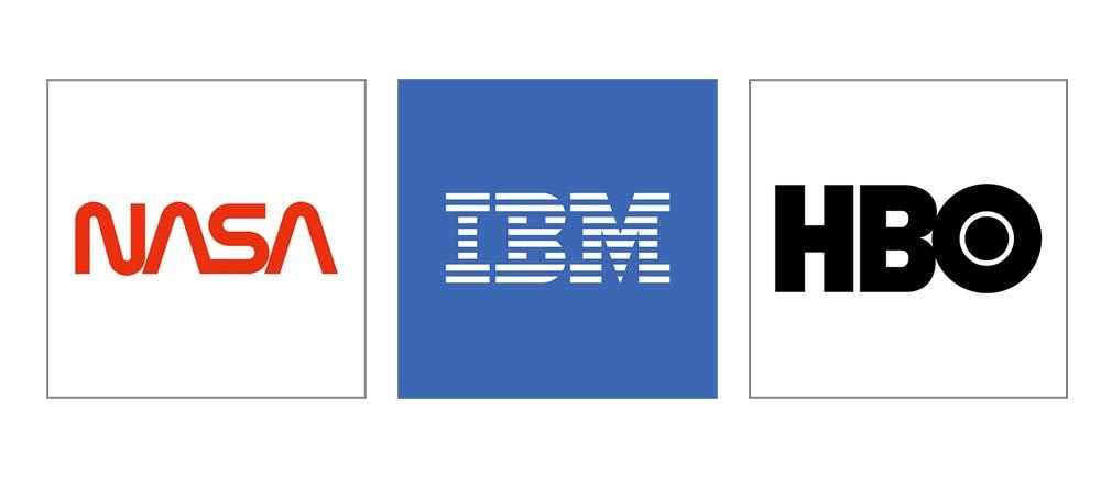 انواع مونوگرام در لوگو تایپ ها