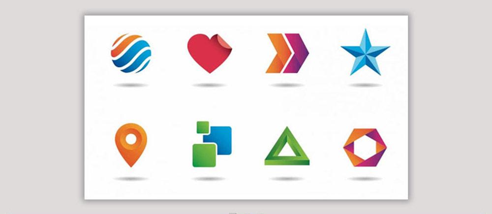 اشکال هندسی در طراحی لوگو